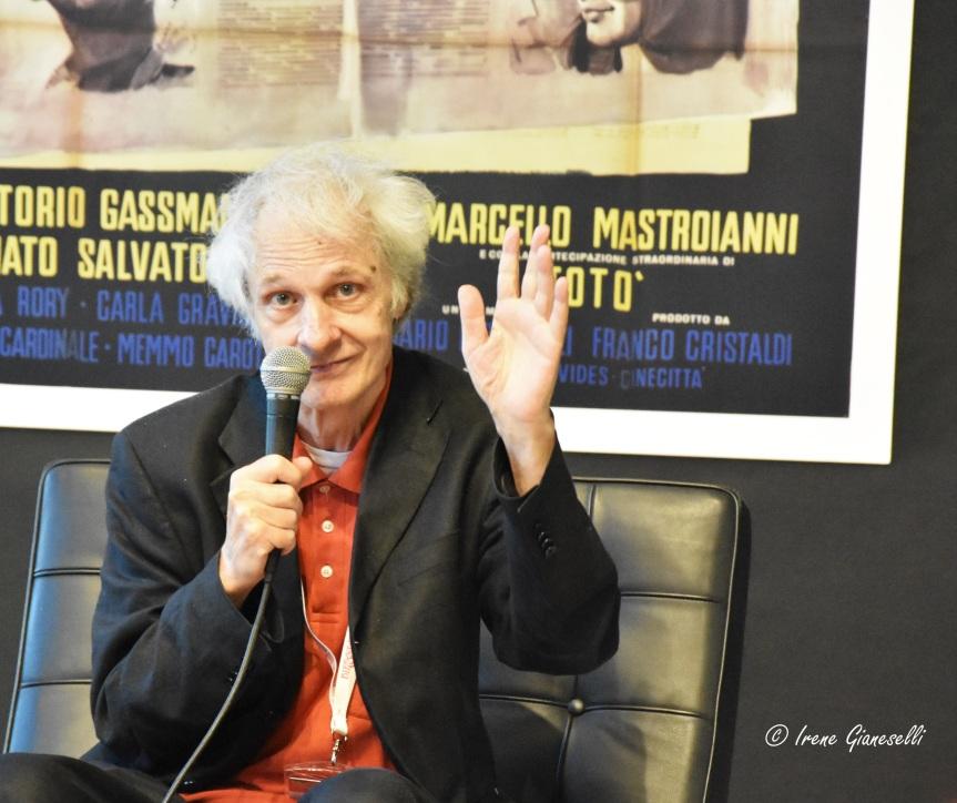 D'amore non si muore: Lino Capolicchio presenta il suo libro al Bari International Film Festival2020