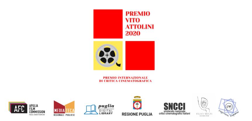 Le vincitrici e il vincitore del Premio Internazionale di Critica Cinematografica Vito Attolini2020