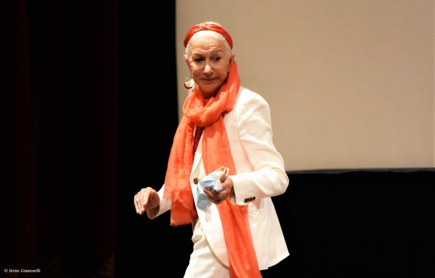 Helen Mirren al Bif&st 2021: la masterclass con Paolo Virzì al Teatro Petruzzelli diBari