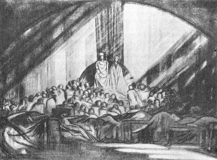Edward Gordon Craig, le mille scene in una e la luce dinamica: la nascita del concetto moderno dimessinscena